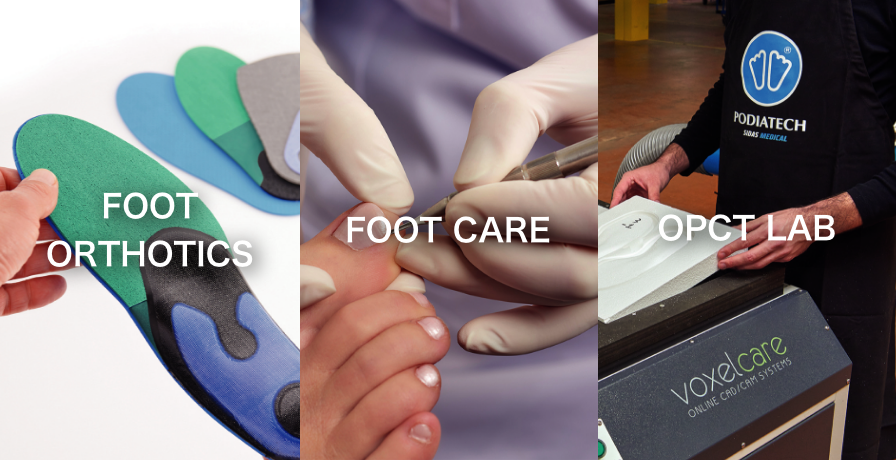 FOOT ORTHOTICS, FOOT CARE, OPCT LAB