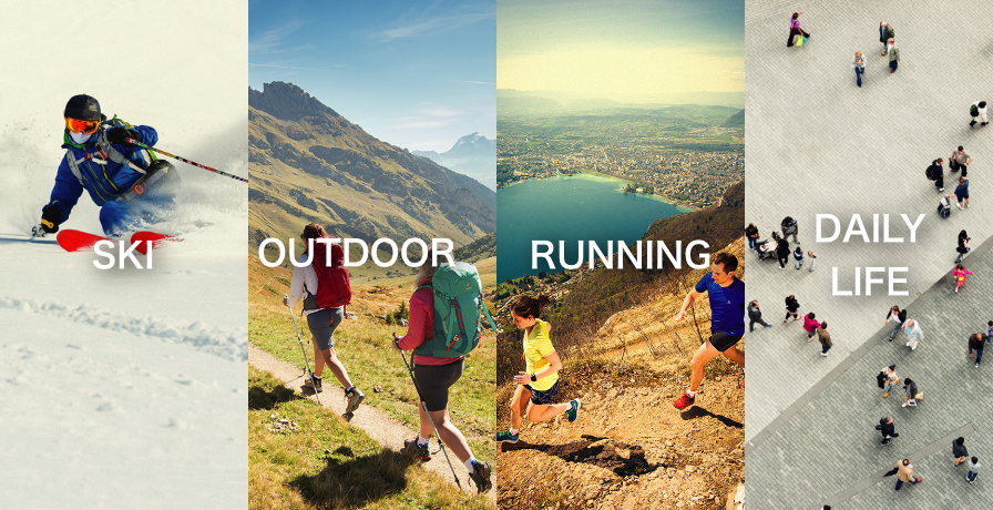 SKI, OUTDOOR, RUNNING, DAILY LIFE